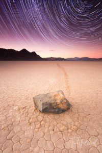 Death Valley Racetrack Startrails