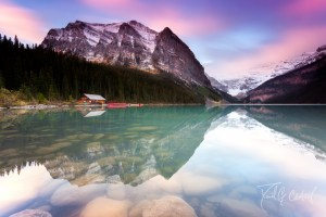 Lake Louise Sunset 2