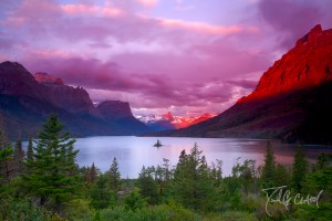 Sunrise at Glacier National Park