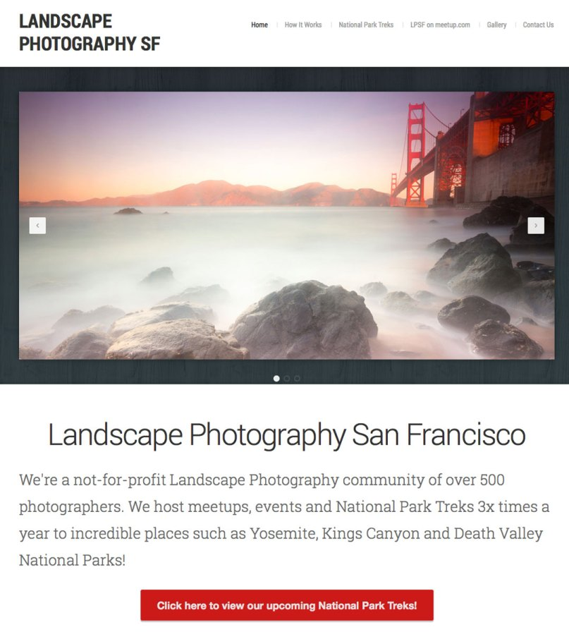 Landscape Photography San Francisco