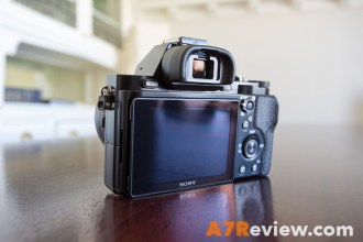 Sony A7R with Metabones EF Adapter and Canon 40mm 2.8 and Metabones EF Adapter back