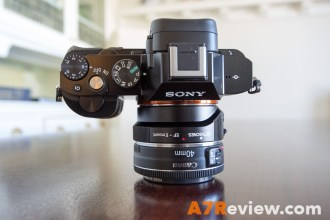 Sony A7R with Metabones EF Adapter and Canon 40mm 2.8 and Metabones EF Adapter top again