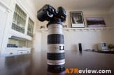 Sony A7R with Metabones EF Adapter and Canon 70-200mm L IS top 1