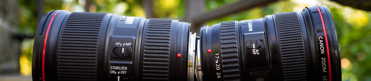 Canon 16-35mm F4 IS vs Canon 17-40mm F4 Review Side-by-side sharpness test