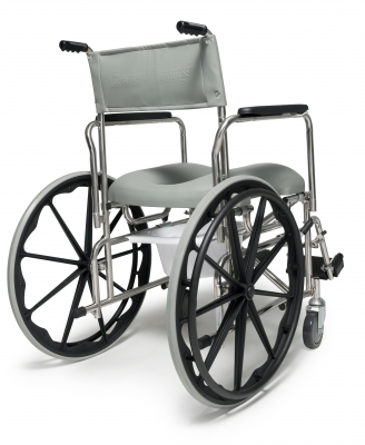 shower chair with wheels and removable arms real comfort adirondack gf: rehab commode