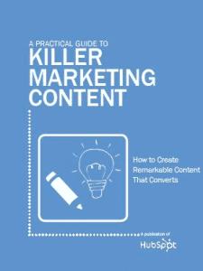 Killer Marketing Content