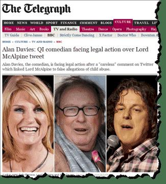 Alan Davies May Be Sued