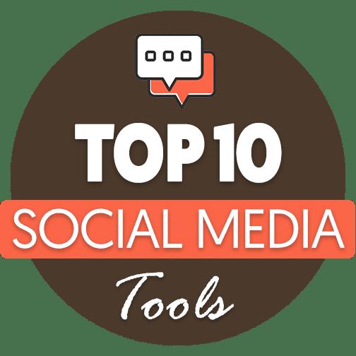 Top 10 Social Media Tools – Infographic