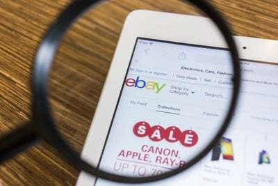Searching on Ebay