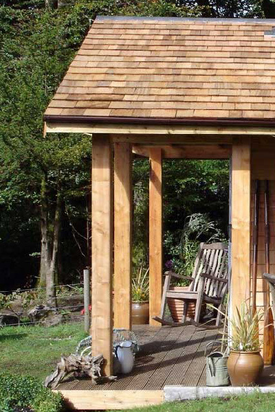 Graham Sandals Garden rooms, garden studios, huts, cabins and shelters