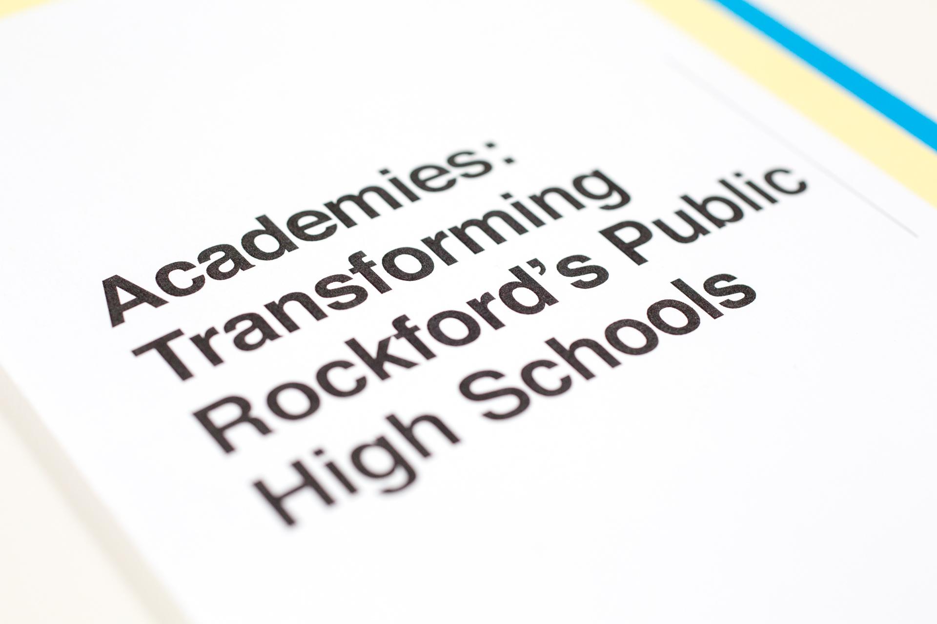 Alignment Rockford: Rockford High School Academies