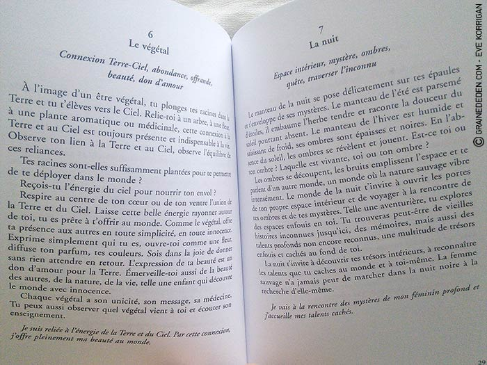 Terre de Louve de Béatrice Lhériteau - Graine d'Eden Développement personnel, spiritualité, guidance, oracles et tarots divinatoires - La bibliothèque des Oracles