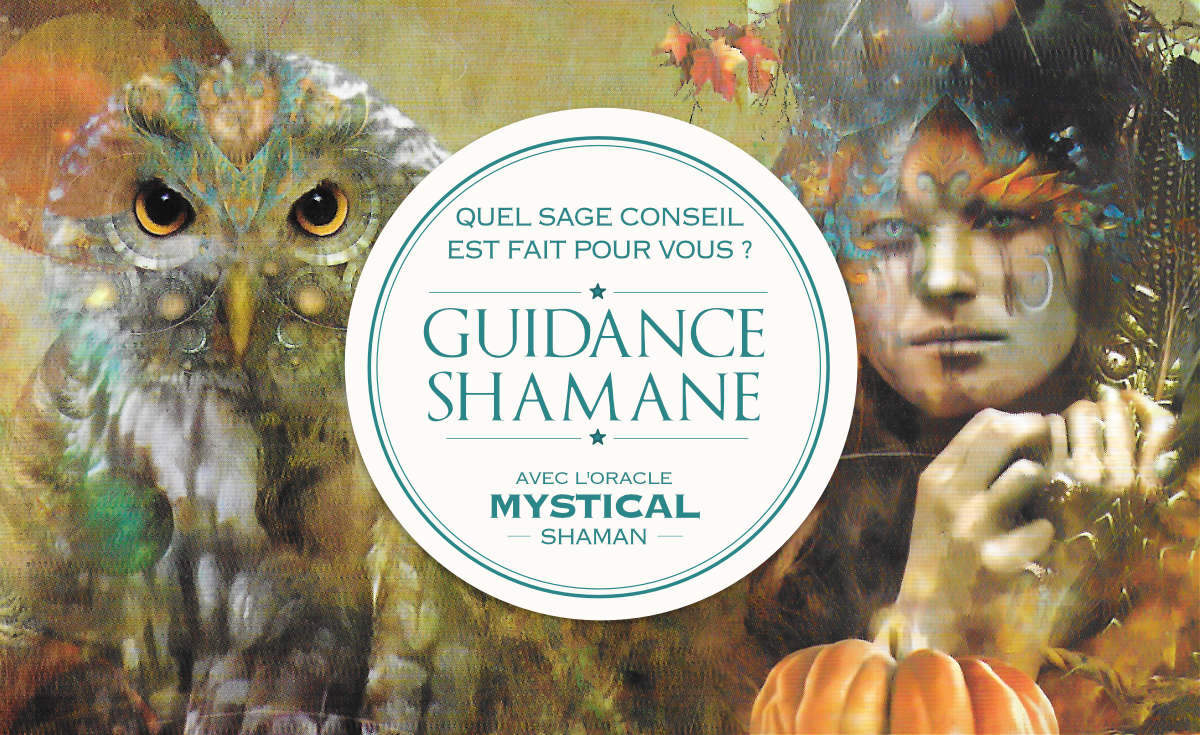Guidance Shamane : Quel est votre message de sagesse ? Votre guidance avec Mystical Shaman Oracle deck - Graine d'Eden Développement personnel, spiritualité, tarots et oracles divinatoires, Bibliothèques des Oracles, avis, présentation, review tarot oracle , revue tarot oracle