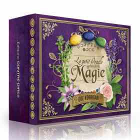 Le Petit Oracle Grimoire de Magie Eve Korrigan review - Graine d'Eden Développement personnel, spiritualité, tarots et oracles divinatoires, Bibliothèques des Oracles, avis, présentation, review tarot oracle , revue tarot oracle