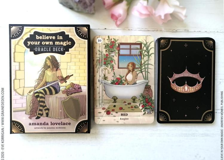 Believe in your own Magic Oracle deck de Amanda Lovelace