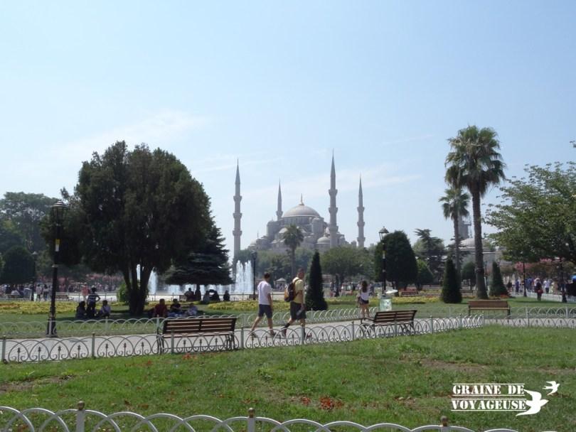 Mosquée bleue Istanbul Turquie