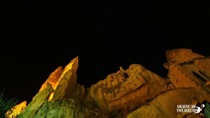 cappadoce goreme étoiles nuit