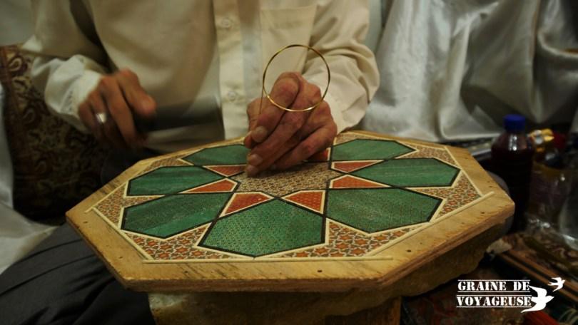 marqueterie iran shiraz