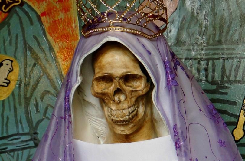 santa Muerte dia de los muertos