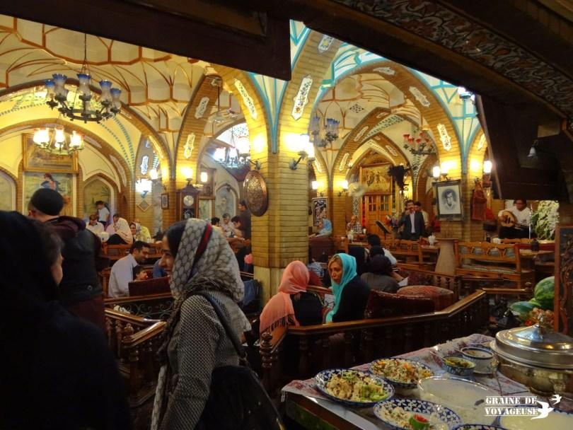 bagh-e-saba restaurant tehran iran