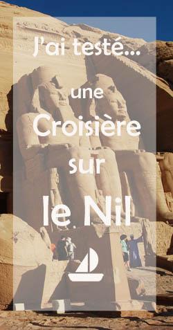 Test croisière nil Egypte