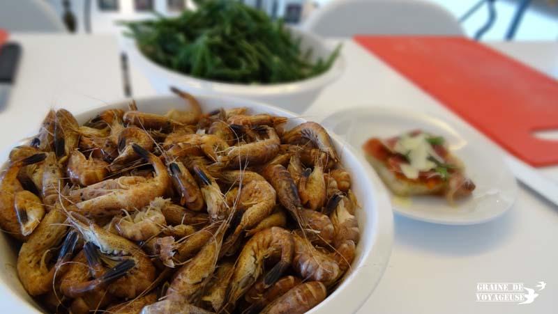 crevettes grises Ostende