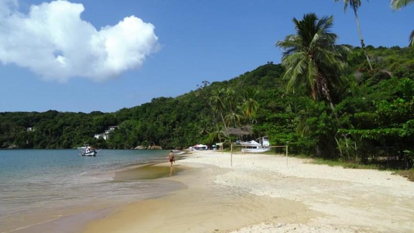 Praia Palmas Ilha Grande
