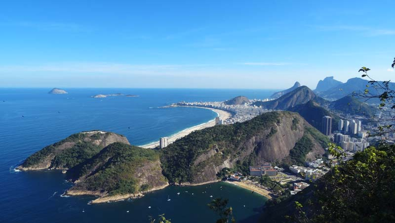 vue de Rio du Pain de Sucre