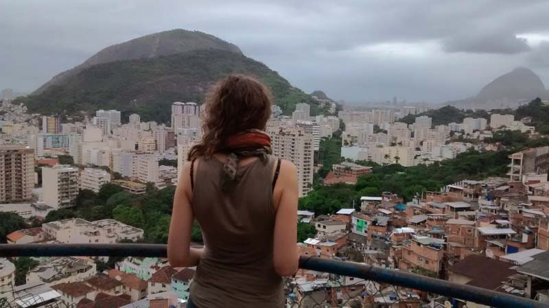 favela Santa Marta Rio