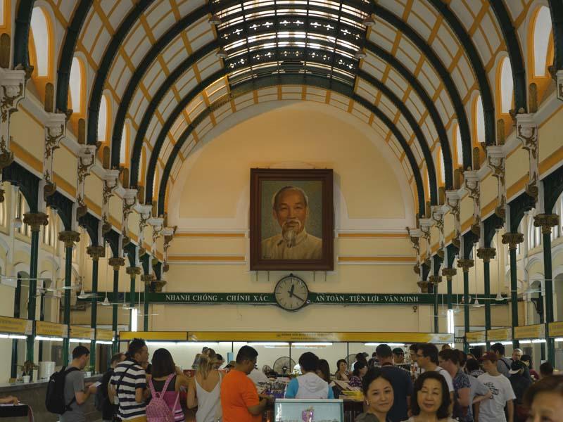 poste centrale Ho Chi Minh
