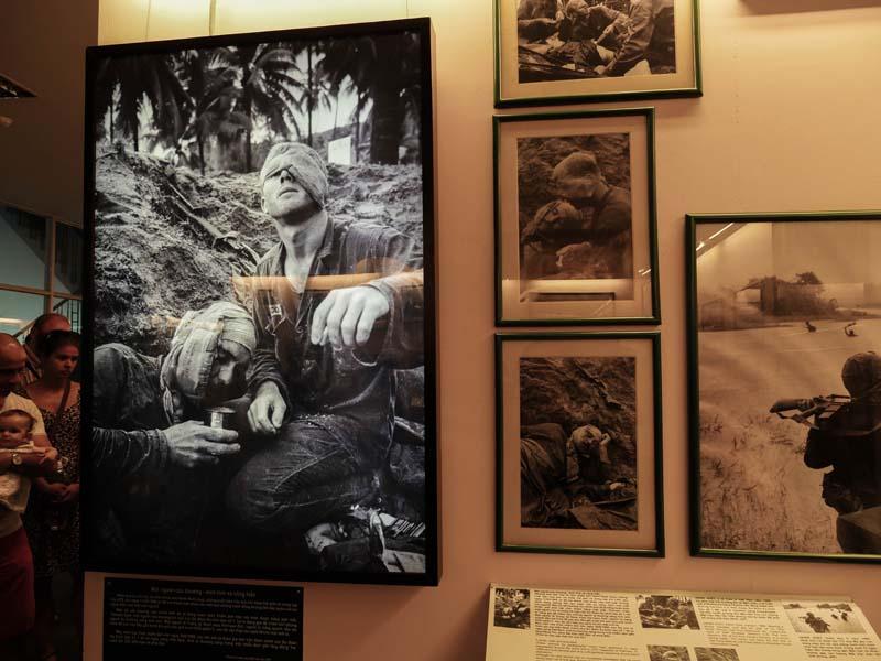 Musée de la guerre vietnam Ho chi minh