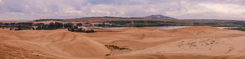 Les dunes blanches de Mui Ne
