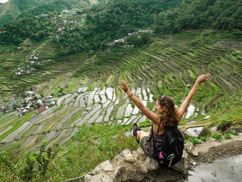 rizières en terrasse de Batad