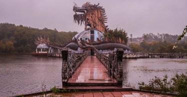 Parc abandonné Hué Vietnam
