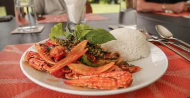 Samanea Resort crabe poivre