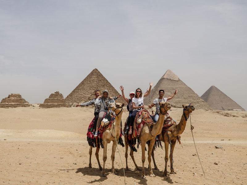 Pyramides de Guizeh