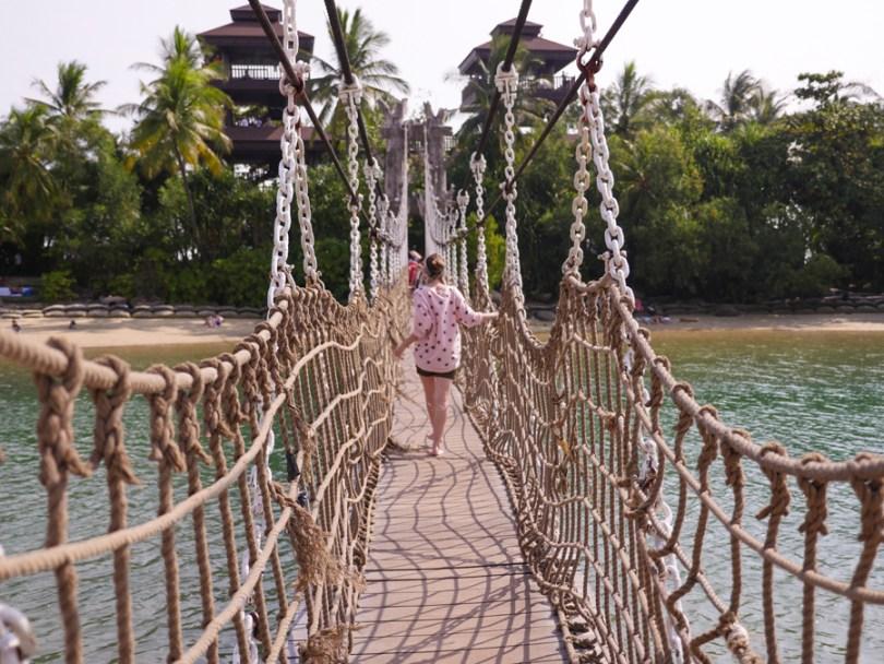Singapour Sentosa Palawan beach