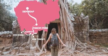 2 semaines au Cambodge : itinéraire et budget
