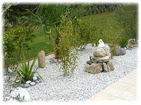 Modeles Jardins Avec Galets Cheap Plantes Grasses Crer