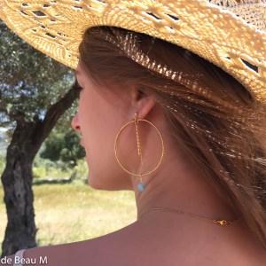 Boucles d'oreilles Line