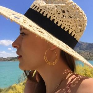 Boucles d'oreilles Andalou