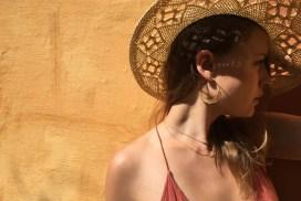 Boucles d'oreilles Andalou et collier Lona et collier Kisy