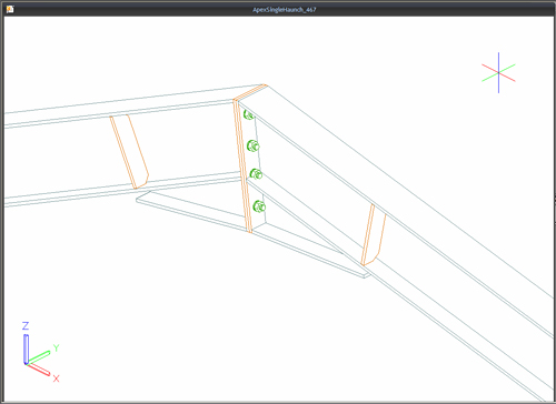 Advance Design : How are steel joints calculated using the
