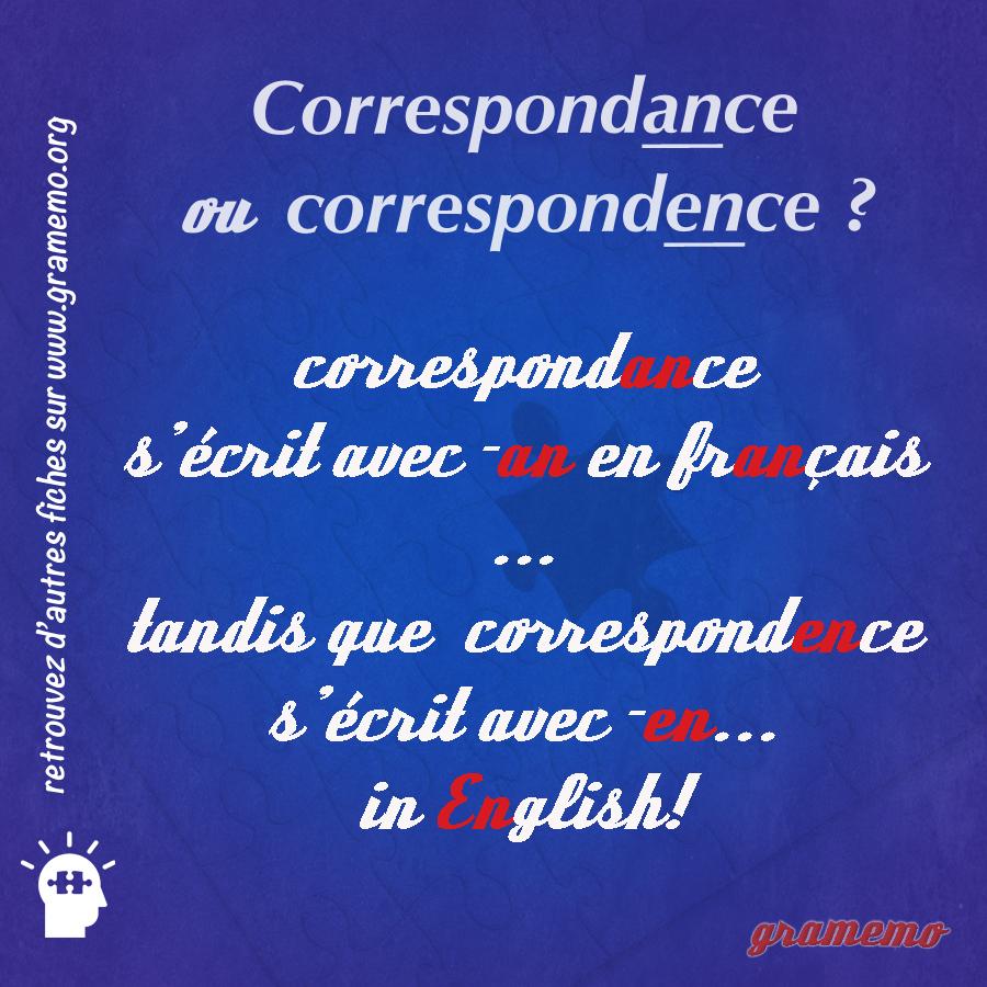 014 Correspondance