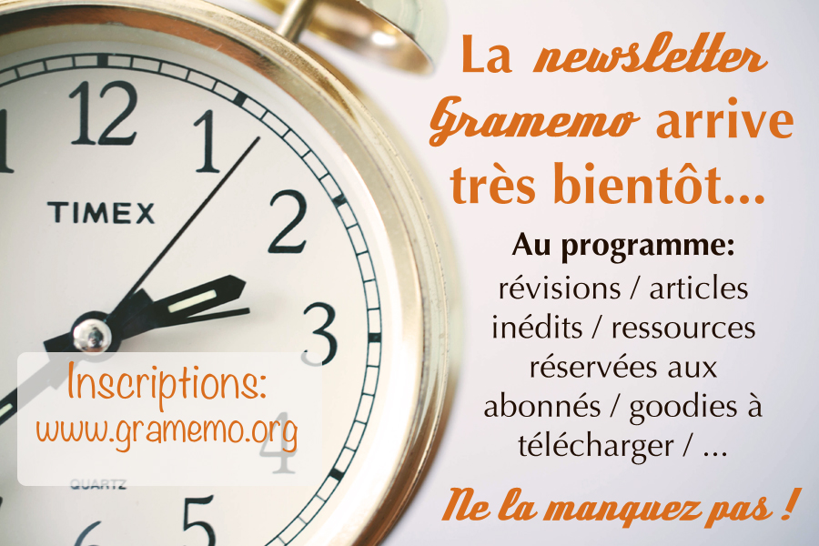 021 Annonce newsletter
