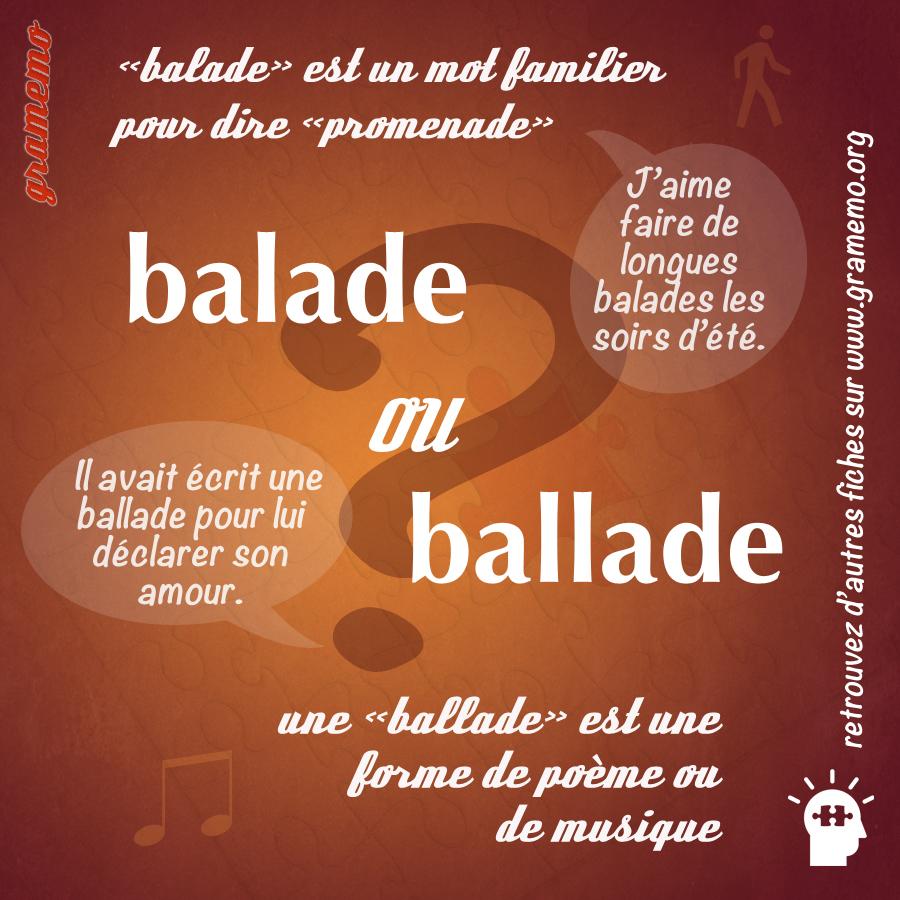 034 Balade ballade