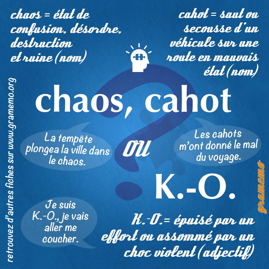 061 Chaos cahot KO