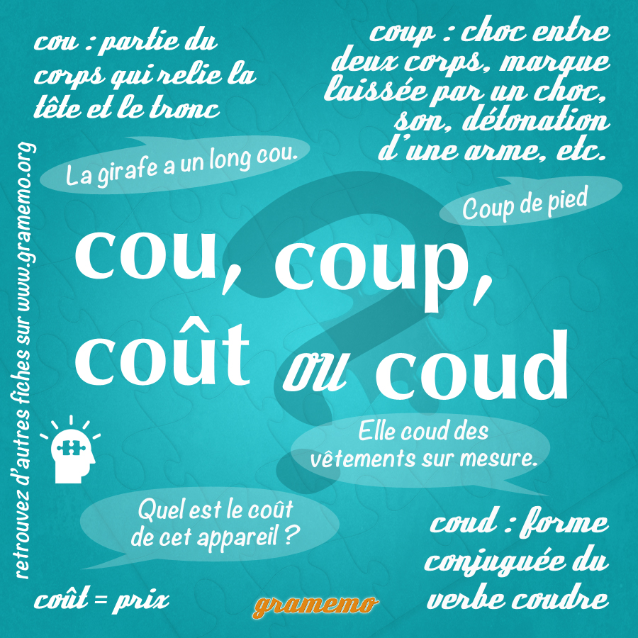 095 Cou coup cout coud
