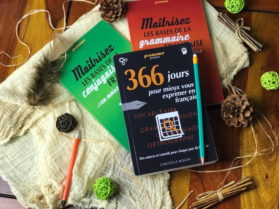 Livre Gramemo :  366 jours pour mieux vous exprimer en français