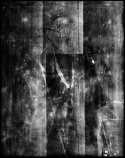 X-ray image of the portrait of Thomas Sackville, 1st Earl of Dorset